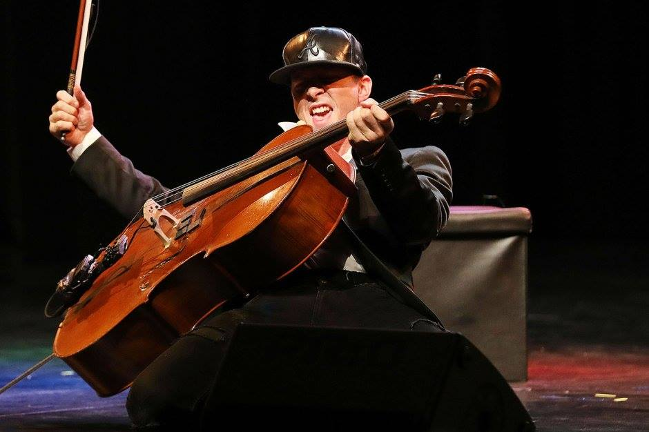 Nieuw: The Burning Cello, comedy